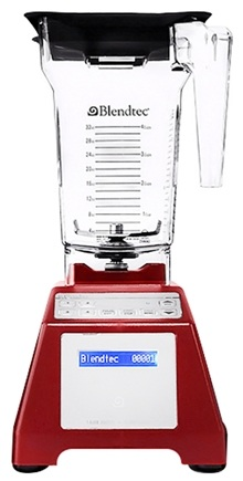 Blendtec - WildSide Tabletop Home HP3A Blender HPA-631-25 Red