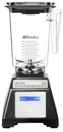 DROPPED: Blendtec - FourSide WildSide Combo Tabletop Home HP3A Blender HPA-621-26 Black