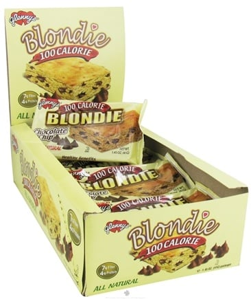 DROPPED: Glenny's - All Natural 100 Calorie Blondie Chocolate Chip - 1.45 oz.