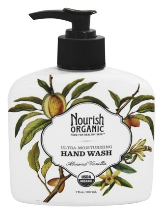 DROPPED: Nourish - Organic Hand Wash Almond Vanilla - 7 oz.