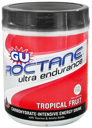 DROPPED: GU Energy - Roctane Ultra Endurance With Caffeine Canister Tropical Fruit - 780 Grams CLEARANCE PRICED