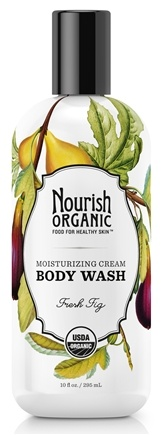 DROPPED: Nourish - Organic Body Wash Fresh Fig - 10 oz. CLEARANCE PRICED
