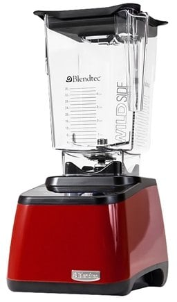 DROPPED: Blendtec - Designer Series WildSide Tabletop Home Blender DD28PA04A-A1GP1D00 Red