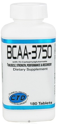 Zoom View - BCAA-3750 wit N-Carbamylglutamate