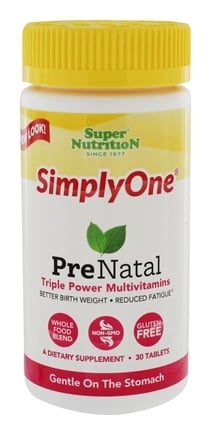 Zoom View - Simply One PreNatal Power Vitamins