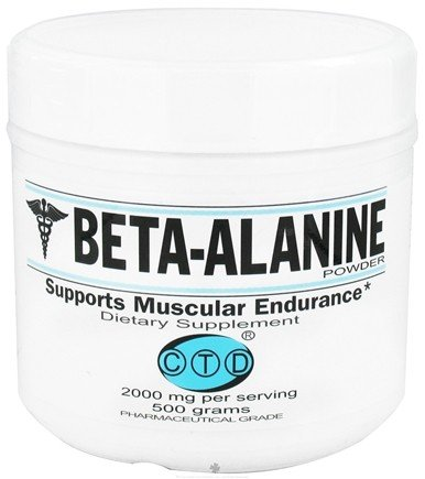 DROPPED: CTD Labs - Beta-Alanine Powder 2000 mg. - 500 Grams