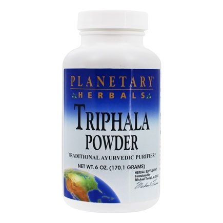 DROPPED: Planetary Herbals - Triphala Ayurvedic Purifier - 6 oz. CLEARANCE PRICED