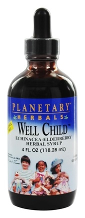 DROPPED: Planetary Herbals - Well Child Echinacea-Elderberry Herbal Syrup - 4 oz.