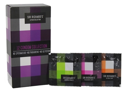 Zoom View - Collection Condoms (4 Classic Ribbed, 4 Pleasure Dots and 4 Ultra Thin)