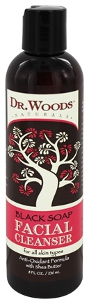 Dr. Woods - Black Soap Facial Cleanser - 8 oz.