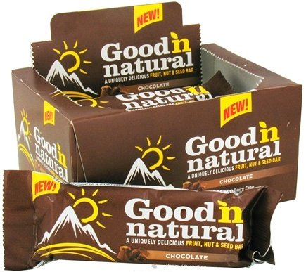 DROPPED: Good 'N Natural - Fruit, Nut & Seed Bar Chocolate - 6 x 2 oz. Bars