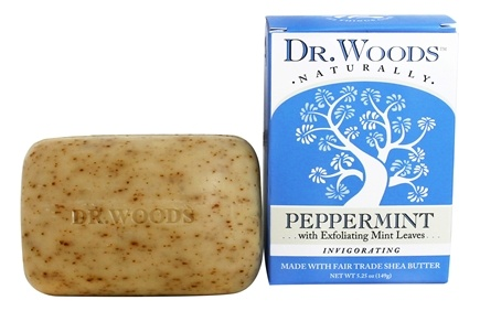 Dr. Woods - Invigorating Castile Bar Soap Peppermint - 5.25 oz.