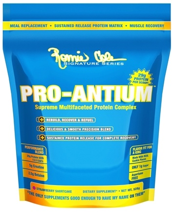 DROPPED: Ronnie Coleman Signature Series - Pro-Antium Supreme Multifaceted Protein Complex Vanilla Wafer Crisp - 528 Grams CLEARANCE PRICED