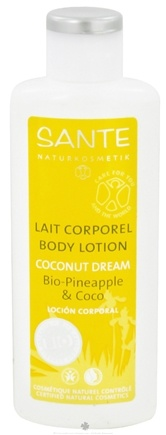 DROPPED: Sante - Body Lotion Coconut Dream - 5.1 oz. CLEARANCE PRICED