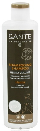 DROPPED: Sante - Shampoo Henna Volume - 6.8 oz. CLEARANCE PRICED