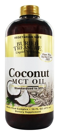 Buried Treasure Products - Coconut Oil MCT - 16 oz.