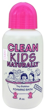 DROPPED: Clean Kids Naturally - Tiny Bubbles Foaming Bath - 8 oz.