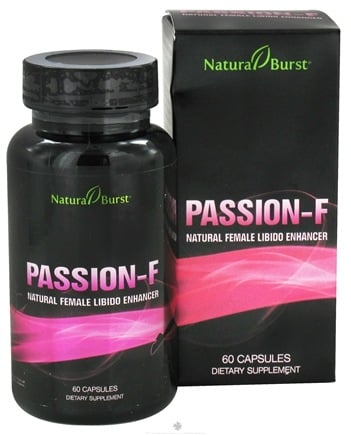 DROPPED: Neutralean - Passion-F Natural Female Libido Enhancer - 60 Capsules (Formerly Natural Burst)