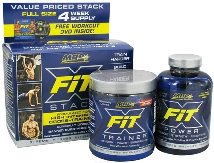 DROPPED: MHP - X-Fit Stack High Intensity Cross-Training with Free Workout DVD - CLEARANCE PRICED