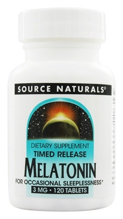 Zoom View - Melatonin Timed Release
