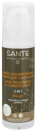 DROPPED: Sante - 2 In 1 Hair Treatment & Conditioner Mango - 5.1 oz. CLEARANCE PRICED