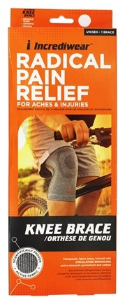 Incrediwear - Radical Pain Relief Knee Brace Unisex - Medium 12-14 Inches