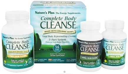 DROPPED: Nature's Plus - Complete Body Cleanse 3-Part System - 14 Day Program CLEARANCE PRICED