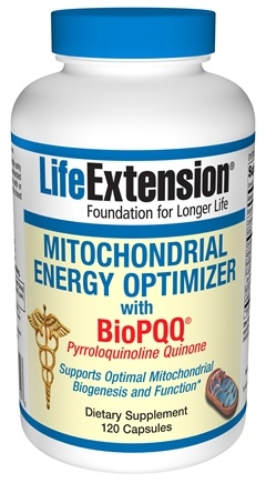DROPPED: Life Extension - Mitochondrial Energy Optimizer with BioPQQ - 120 Capsules
