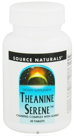 DROPPED: Source Naturals - Theanine Serene - 30 Tablets CLEARANCE PRICED