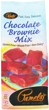 DROPPED: Pamela's Products - Brownie Mix Gluten Free Chocolate - 16 oz.