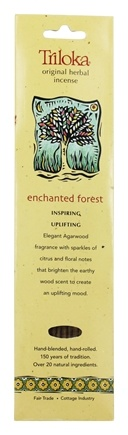 Triloka - Original Herbal Incense Enchanted Forest - 10 Stick(s)