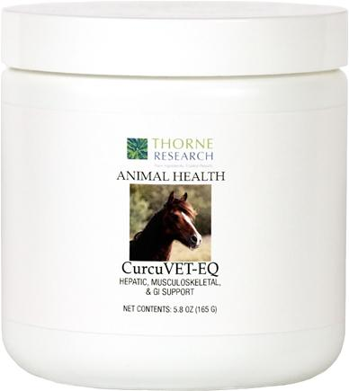 DROPPED: Thorne Research - Animal Health CurcuVET-EQ Powder - 5.8 oz.