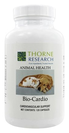 DROPPED: Thorne Research - Animal Health Bio-Cardio - 120 Capsules