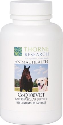 DROPPED: Thorne Research - Animal Health CoQ100VET - 90 Capsules