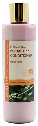 DROPPED: Alaffia - Conditioner Revitalizing Coffee & Shea Citrus Mint - 8 oz. CLEARANCE PRICED