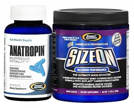 DROPPED: Gaspari Nutrition - Anatropin and SizeOn - Wild Berry Punch Exclusive BOGO Pack - CLEARANCE PRICED