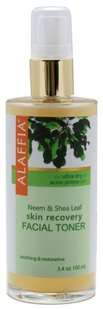 DROPPED: Alaffia - Facial Toner Neem & Shea Leaf Skin Recovery - 3.4 oz. CLEARANCE PRICED