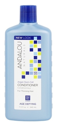 Andalou Naturals - Age Defying Argan Stem Cells Conditioner For Thinning Hair - 11.5 oz.