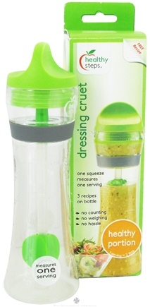 DROPPED: Healthy Steps - Dressing Cruet Healthy Portion Serving - CLEARANCE PRICED