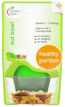 DROPPED: Healthy Steps - Nut Bowl Healthy Portion - CLEARANCE PRICED