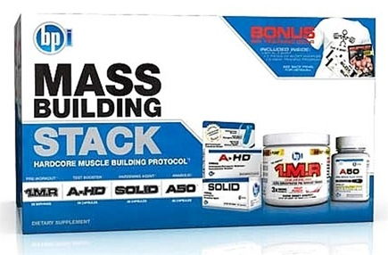 DROPPED: BPI Sports - Mass Stack Hardcore Muscle Building Protocol - CLEARANCE PRICED