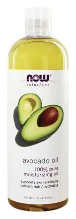 NOW Foods - Avocado Oil 100% Pure Moisturizing Oil - 16 oz.