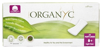 Organyc - Organic Cotton Menstrual Panty-Liners Light Flow+ - 24 Liner(s)