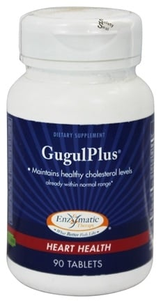 DROPPED: Enzymatic Therapy - GugulPlus - 90 Tablets