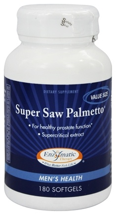 DROPPED: Enzymatic Therapy - Super Saw Palmetto - 180 Softgels
