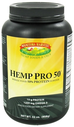 DROPPED: Manitoba Harvest - Hemp Pro 50 - 32 oz. (Fomerly Hemp Protein Powder)