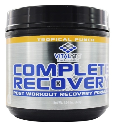 DROPPED: Vitalyte - Complete Recovery Post Workout Formula Tropical Punch - 20 Servings - 1.04 lbs.