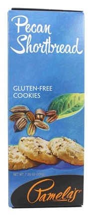Pamela's Products - Gourmet All Natural Cookies Gluten-Free Pecan Shortbread - 7.25 oz.