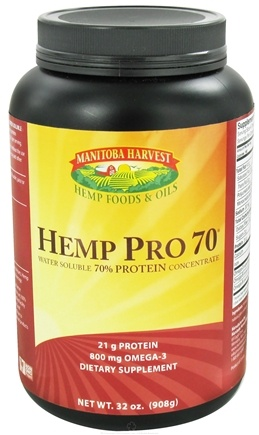 DROPPED: Manitoba Harvest - Hemp Pro 70 Water Soluble 70% Protein Concentrate - 32 oz.