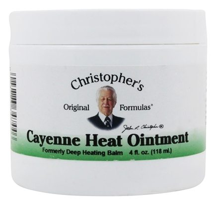 Dr. Christopher's Original Formulas - Cayenne Heat Ointment - 4 oz.